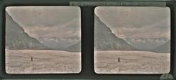 La Mer de glace, autochrome, Fonds du Dr Henri Bussillet