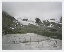 Le glacier du Sulden, 2005, série : Panta Rhei