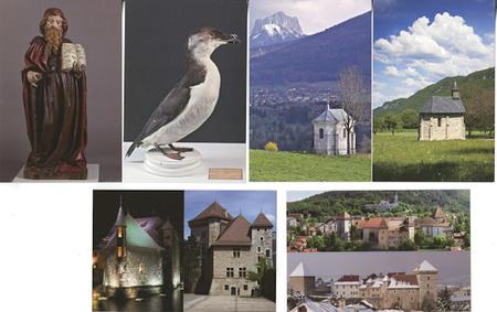 Les cartes postales éditées par les musées