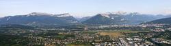 Le territoire de la Communauté de l'agglomération d'Annecy