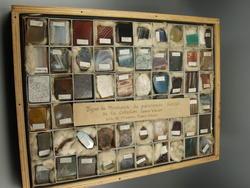 Types de minéraux de provenances diverses de la collection Joseph Vallot